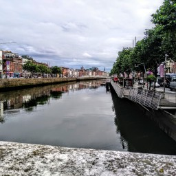 13 sierpnia, podróż do Dublina